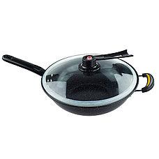 Казан Сила Гранита с вакуумной крышкой, 32 см, фото 3