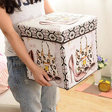 Пуфик с крышкой для хранения вещей Стиль, фото 3
