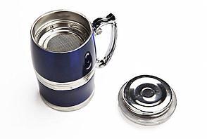 Магнитная кружка Bradex Живая Вода синяя, фото 3