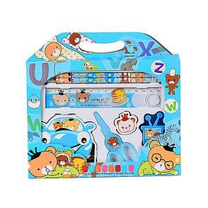 Канцелярский набор для дошкольников 7 предметов, фото 2