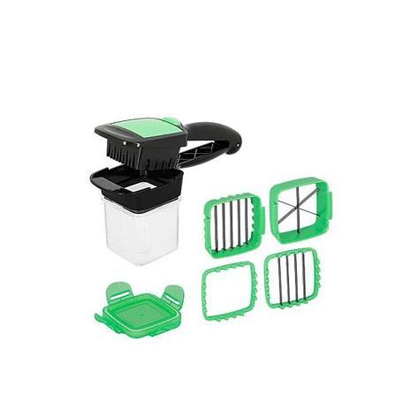 "Овощерезка с контейнером и насадками ""Секунда"" зеленая, фото 2"