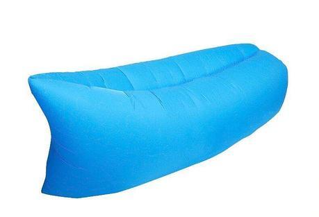 Надувной диван Air Sofa голубой, фото 2