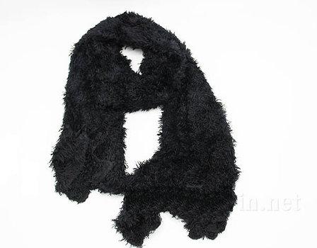 Шарф трансформер, цвет черный, фото 2