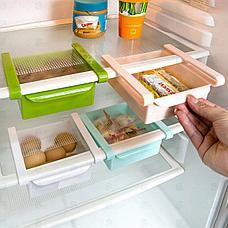 Подвесной органайзер для холодильника, цвет зеленый, фото 3
