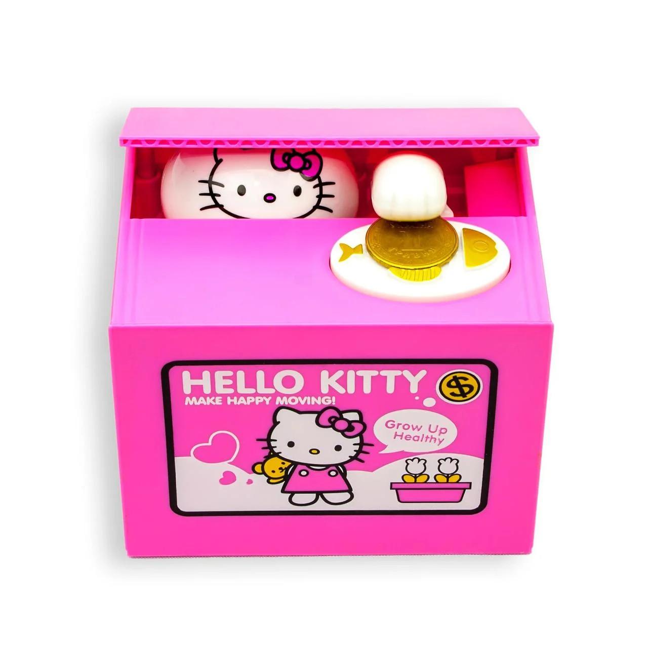 Копилка Кошка-воришка Hello Kitty