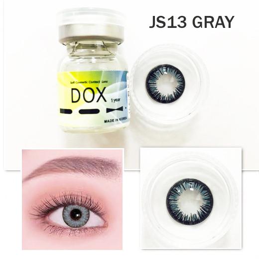Цветные линзы DOX (JS13 Gray) от -1.50 до -5.00