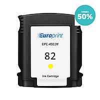 Картридж Europrint EPC-4913Y (№82)