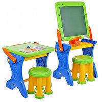 """Парта-мольберт + стул набор """"Играй и учись"""""""