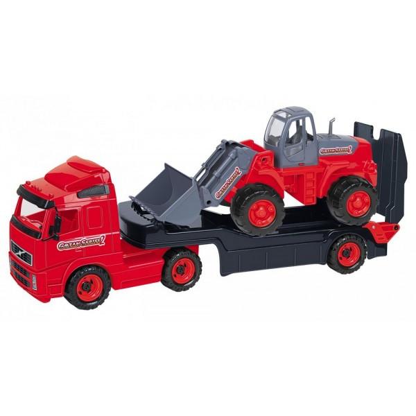 8831 Авт.- трейлер + трактор-погрузчик (в сеточке)