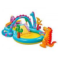 Детский надувной игровой центр Диноленд -