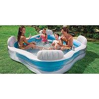 Семейный надувной бассейн Intex 56475