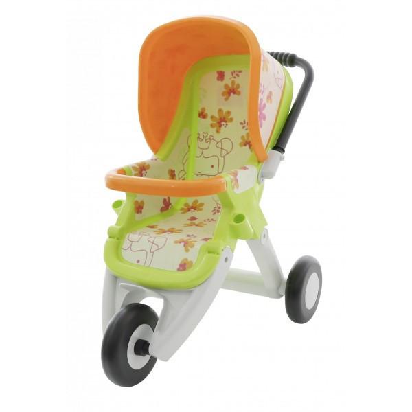 Коляска для кукол №2 прогулочная 3-х колёсная (в пакете) арт 48141