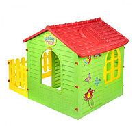 Игровой домик с забором 10839 Mochtoys