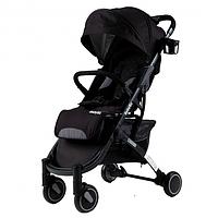 Прогулочная коляска Babyzz  D200 — ЧЁРНАЯ, фото 1