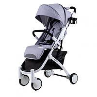 Прогулочная коляска Babyzz  D200 -серая, фото 1