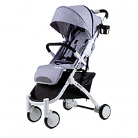 Прогулочная коляска Babyzz  D200 -серая
