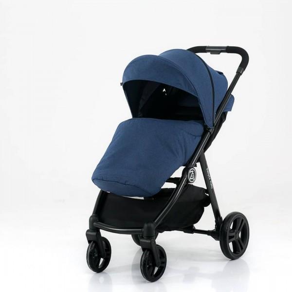 BabyZz Прогулочная детская всесезонная коляска Rally синий