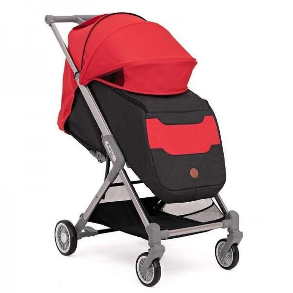 BabyZz Прогулочная детская всесезонная коляска  Prime красный