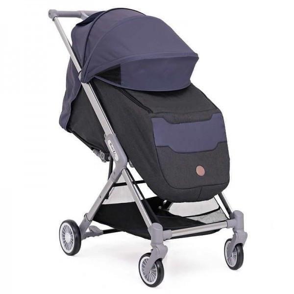 BabyZz Прогулочная детская всесезонная коляска  Prime синий