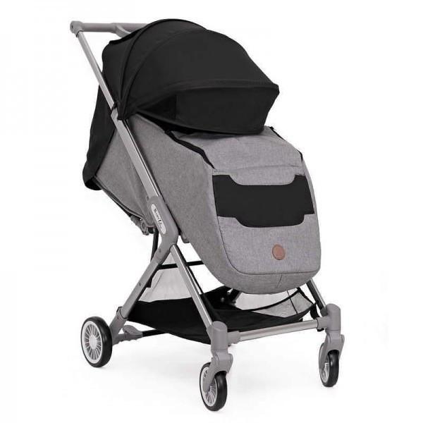 BabyZz Прогулочная детская всесезонная коляска  Prime черный