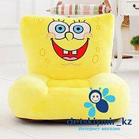 Детский пуфик-кресло Sponge bob