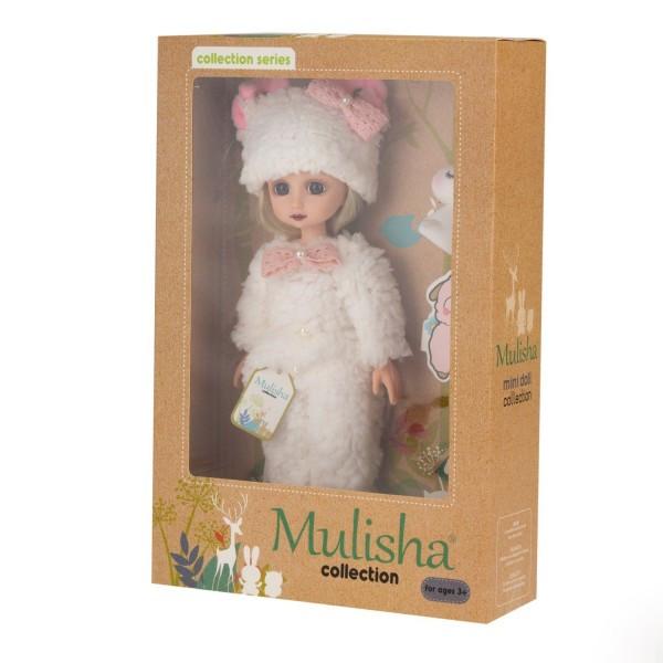 Кукла Мулиша в костюмчике Барашка, 28 см.
