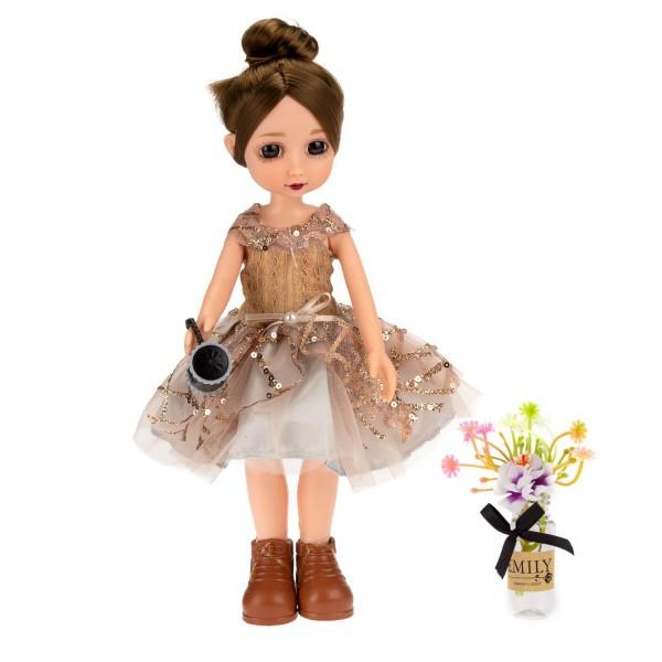Кукла Эмили Мулиша в ботаническом саду коллекция Ванильное небо