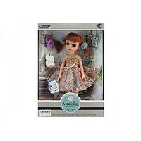 Кукла Мулиша с сумочкой и питомцем серии Ванильное небо , 28 см.