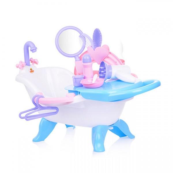 Игровой набор для купания кукол №2 с аксессуарами