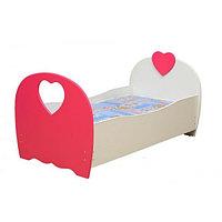 Кровать Сердце с матрасом