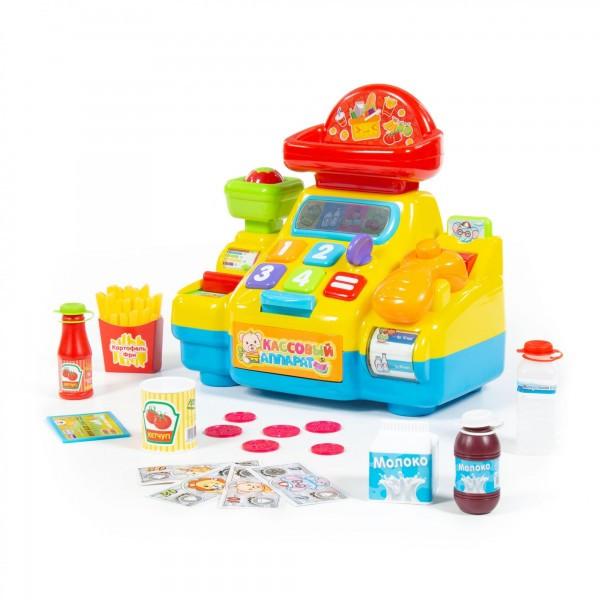 """Игрушка развивающая POLESIE """"Кассовый аппарат для супермаркета"""", в коробке (77073"""