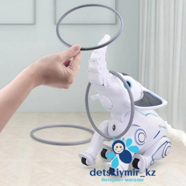 Радиоуправляемый слон-робот Smart Elephant Слоник со световыми и звуковыми эффектами