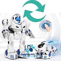 Робот-трансформер с супер-способностью запуска деформации по отпечатку пальца., фото 1
