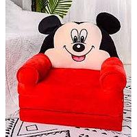 Детское кресло раскладушка Микки Маус