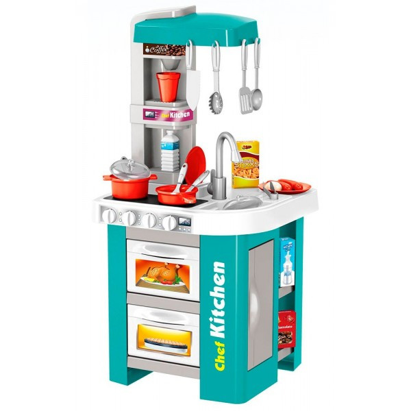 Детская кухня игровая со звуком и светом и водой
