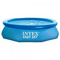 Круглый надувной бассейн 366х76см, Intex 28130