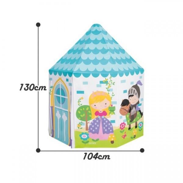 Игровой центр-домик «Домик Принцессы», 104 х 104 х 13 см, от 3 до 6 лет, 44635NP INTEX