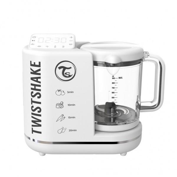 Пароварка-блендер 6 в 1 для приготовления детского питания Twistshake