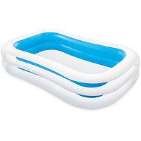 Семейный надувной бассейн Swim Center Family 262 х 175 х 56 см, INTEX, 56483NP,