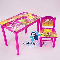 Детский столик со стулом