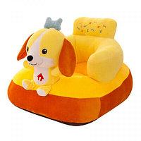 Детский пуфик-кресло Собачка