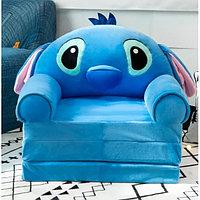 Детское кресло раскладушка Stitch