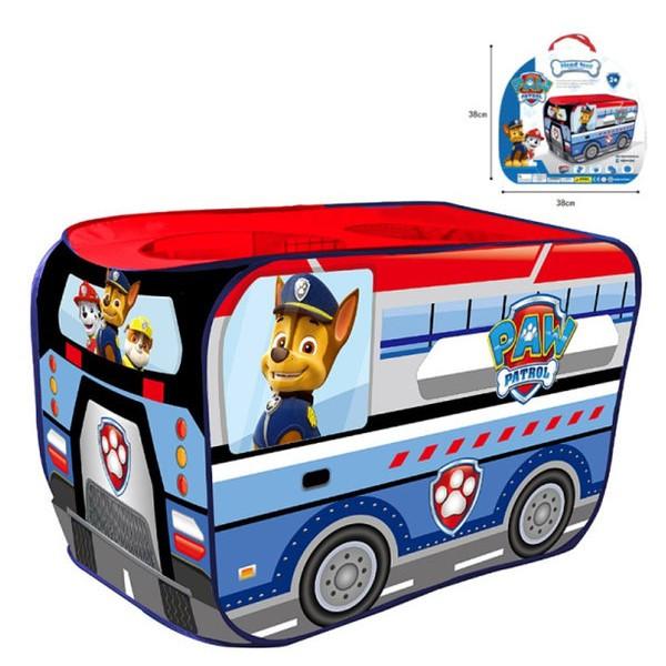 Детская игровая палатка домик-автобус Щенячий патруль 999-306 (размер 114*73*73 см)