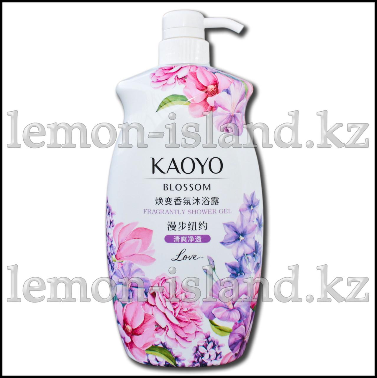 """Крем-гель для душа/пена для ванны Kaoyo """"Прогулка по Нью-Йорку"""" с цветочными экстрактами"""