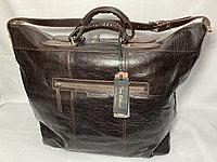 """Дорожная сумка из кожи от итальянского бренда""""TONY BELLUCCI"""".Высота 40 см, ширина 47 см, глубина 20 см., фото 1"""
