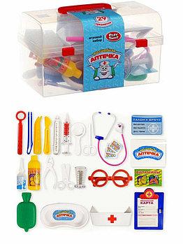 2551 Волшебная аптечка Play smart в чемодане, 29предм, 21*12см