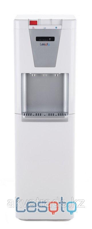 Диспенсер для воды LESOTO 888 LD-G WHITE-SILVER
