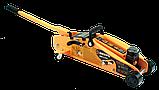 Домкрат гидравлический подкатной ДМК-2,5ФК (2,5 т, 140-390 мм, с фиксатором, в кейсе) Вихрь, фото 3