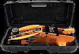 Домкрат гидравлический подкатной ДМК-2,5ФК (2,5 т, 140-390 мм, с фиксатором, в кейсе) Вихрь, фото 5