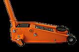 Домкрат гидравлический подкатной ДМК-3Б (3 т, 115-470 мм, быстрый подъём) Вихрь, фото 3